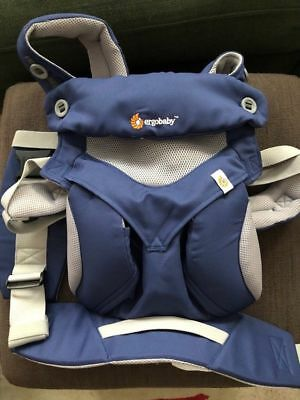 NEW w/o BOX! ERGOBABY 360 COOL AIR MESH Multi Position Ergo baby carrier Blue