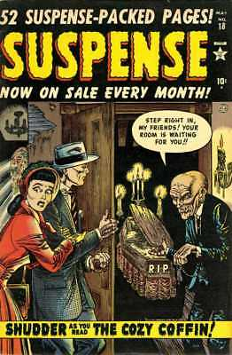 Astonishing, Mystic & Suspense Vintage Golden Age Horror Comic Collection On Dvd