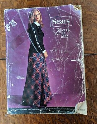 SEARS 1972 Fall and Winter Catalog Fashion Housewares 1125 pages