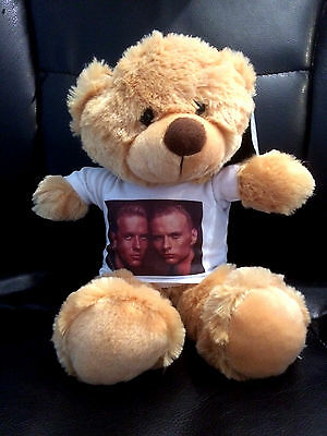 BROS TEDDY BEAR, Luke and Matt Goss
