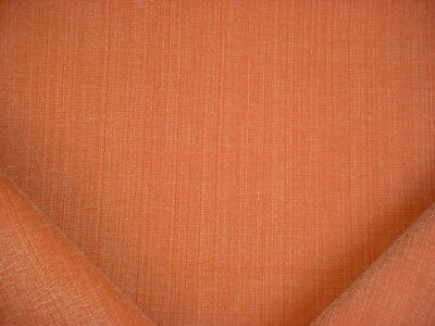 6-5/8Y Glant 9874 Ravenna Persimmon Textured Weave Drapery Upholstery Fabric
