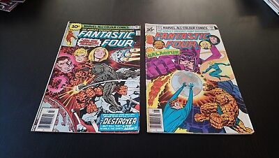 Fantastic Four #172 #173 Original Marvel Comics (1976)