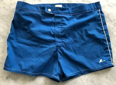 Vintage CATALINA Men's Blue Tennis Leisure Shorts Made In USA Size 36