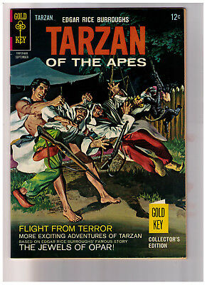 Tarzan #160 Gold Key 1966 Edgar Rice Burrough's VF/NM or better scarce condition