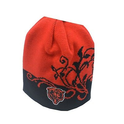 deeea0a4f Chicago Bears Official NFL Kids Youth Girls (7-16) OSFM Winter Beanie Hat