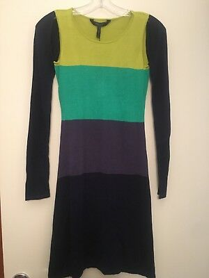 dc14fb6589 NEW WITH TAGS BCBG MaxAzria Chelsea Dress Blue Combo XS  228 ...