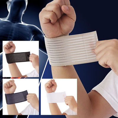 Elastic Wrist Knee Bandage Ankle Elbow Calf Arm Gym Brace Wrap Support Band