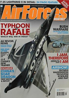AIR FORCES MONTHLY Magazine 2011 September F-35 Lightning