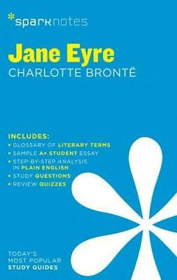 Jane Eyre SparkNotes Literature Guide New Paperback Book
