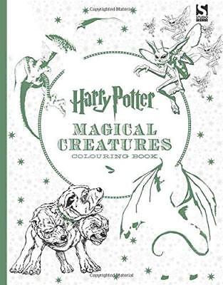 Harry Potter Magical Creatures Colouring Book New Paperback Book