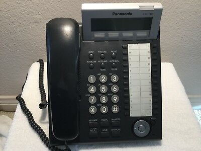 Panasonic KX-DT343 LCD Backlight Business Office Digital Phone Pre-owned