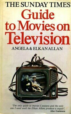 Sunday Times Guide to Movies on Television Hardback Book The Cheap Fast Free