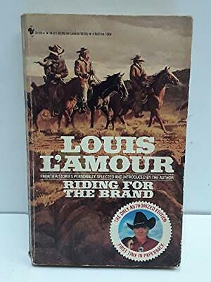 Riding for the Brand by L'Amour, Louis Paperback Book The Cheap Fast Free Post