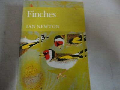 Finches (Collins New Naturalist) Limpback by Newton, Ian Hardback Book The Cheap