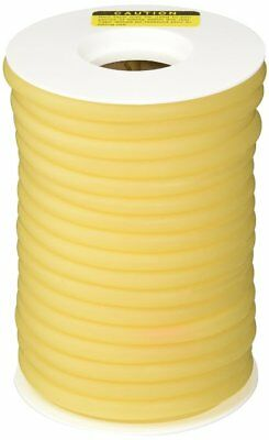 "25 FEET OF 3/8"" I.D x 1/8' WALL LATEX RUBBER TUBING AMBER"