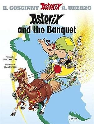 Asterix: Asterix and the Banquet by Rene Goscinny New Paperback Book