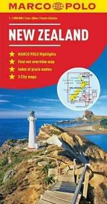 New Zealand Marco Polo Map by Marco Polo New Sheet map  folded Book