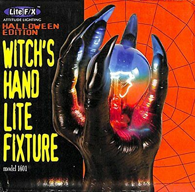Creepy Witch's Hand Light Fixture by Lite F/X, Halloween Edition