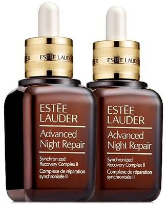 Two x Estee Lauder Advanced Night Repair Synchronized Serum Complex11 50ml Boxed