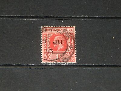 Northern Nigeria stamp for sale - 1 used early stamp - nice !!