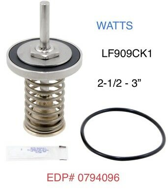"LFRK909CK1 Watts 2 1/2 - 3""  1ST CHECK Backflow Preventer Repair Kit 0794096"