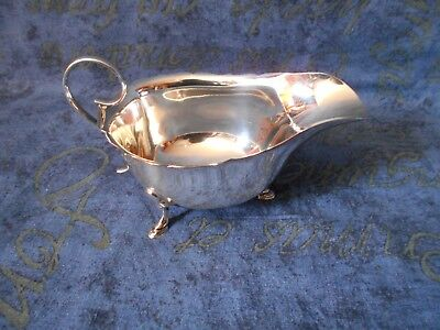 Mappin And Webb Sterling Silver Milk Or Cream Jug Date 1929 Sheffield