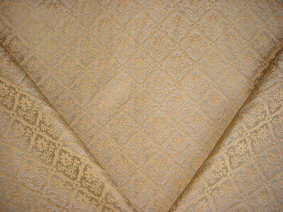 9-1/4Y Kravet / Lee Jofa Floral Lattice Trellis Damask Drapery Upholstery Fabric