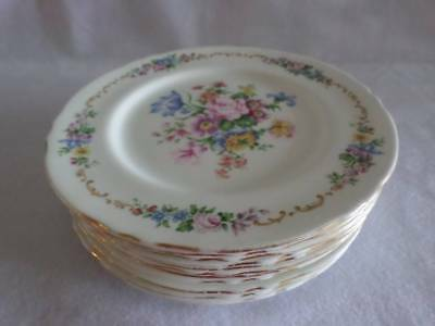 """Crown Staffordshire Pattern F16166 Vintage Dinner Plate 10.5"""" Multiple Available"""