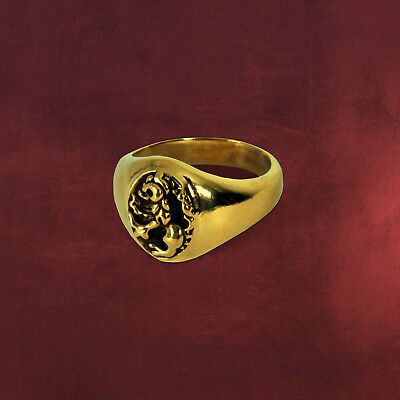 Anillo Ring Harry Potter Dumbledore Cosplay Gryffindor Ron Hermione #2