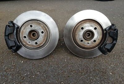 VW Corrado 1.8i 16V G60 Coupe 134bhp Front Brake Pads Discs 280mm Vented