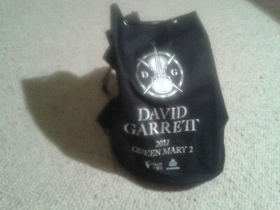 David Garrett Fan - Rucksack, Queen Mary 2, Stars at Sea, Seesack, Tasche NEU