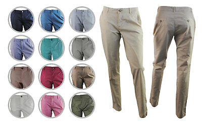 Womens ESPRIT Chino Casual Trousers Soft Cotton Size 8 to 18 Pants Ladies B4