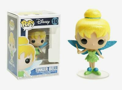 Peter Pan - Tinker Bell Diamond Glitter Pop! Vinyl - FunKo Free Shipping!