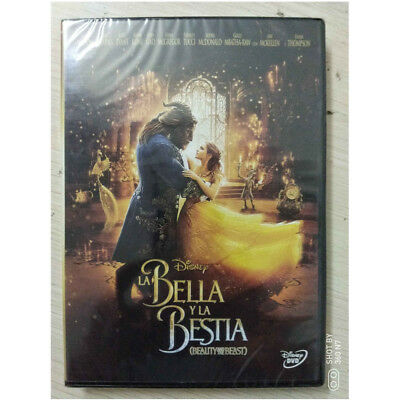 Beauty and the Beast (English/Spanish DVD, 2017)