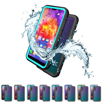 Waterproof Shockproof Full Cover Hybrid Hard Clear Case For Huawei P20 Pro/Plus