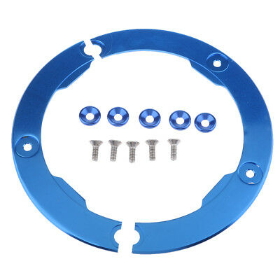 Blue CNC Transmission Belt Pulley Cover for Yamaha T-max TMAX 530