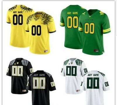 separation shoes 01363 a4919 CUSTOM NCAA OFFICIAL OREGON DUCKS College Football Jersey *YOUR NAME NUMBER