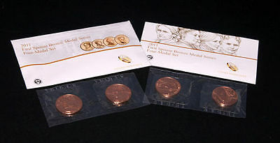 2011 First Spouse Bronze Medal Series - Four Medal Set