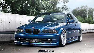 Bmw 3 E46 Coupe Front Spoiler Alpina Look
