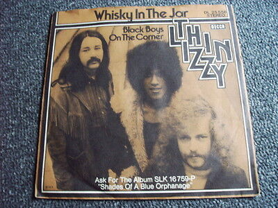 Thin Lizzy- Whisky in the Jar 7 PS-Made in Germany