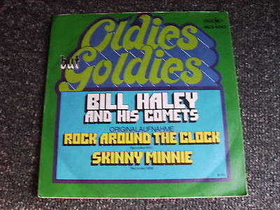 Bill Haley-Rock around the Clock 7 PS-Made in Germany