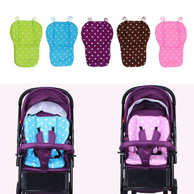 Kid Baby Stroller Cushion Pad Pram Padding Liner/Car Seat Dot Pad Waterproof