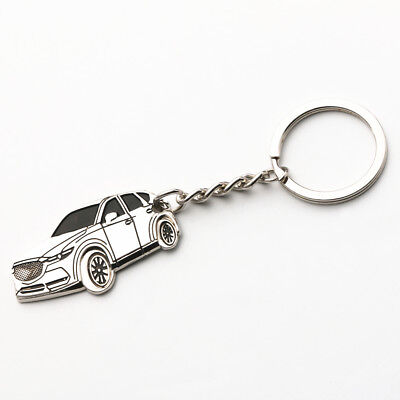 Zinc-Aluminium Alloy Keychain Key Ring for All New Mazda CX-5 KF 2018