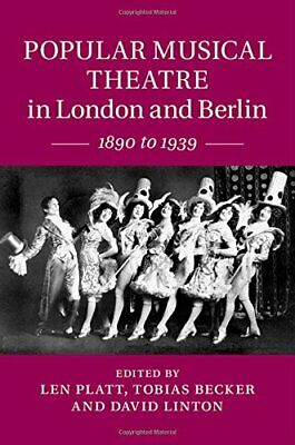 Popular Musical Theatre in London and Berlin: 1890 to 1939 Book The Cheap Fast