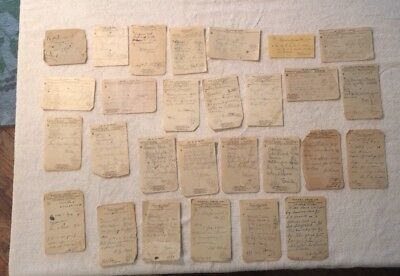 Antique Medical Prescriptions from 1912 and 1913, Los Angeles, CA, (28 total)