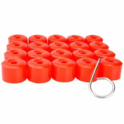 20Pcs 17mm Car Wheel Nut Covers Hub Screw Bolts Caps Protector for Volkswagen
