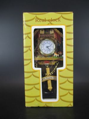 Magnet Cuckoo Clock Clock Black Forest Clock 16 Cm ,Souvenir Germany