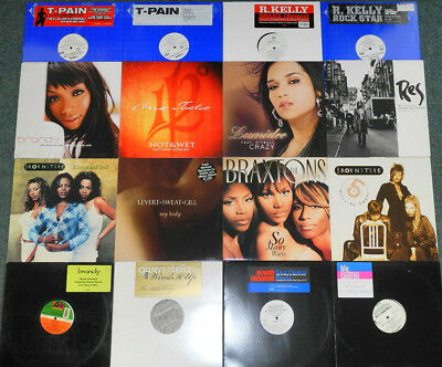 "50 x 12"" US RnB / SOUL / CLUB STUFF- JOE - USHER - BRANDY - 112 - BRAXTONS(9/17)"