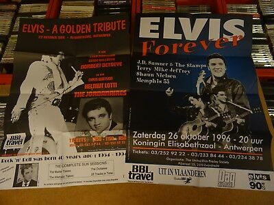 2 Affiches Elvis Presley