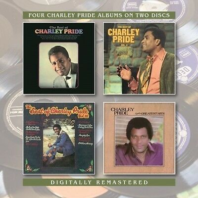 Charley Pride - Best Of / Best Of 2 / Best Of 3 / Greatest Hits [New CD] UK - Im